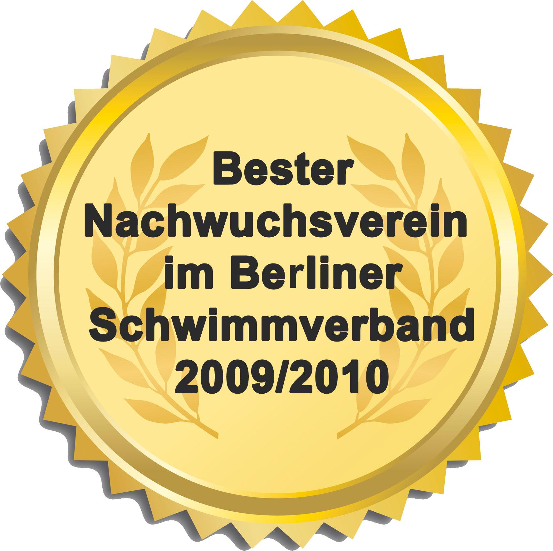 Auszeichnung_gold_BesterNachwuchsverein